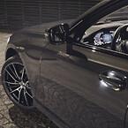 BMW, sommer, alufælge, stil, vej, AEZ, lys
