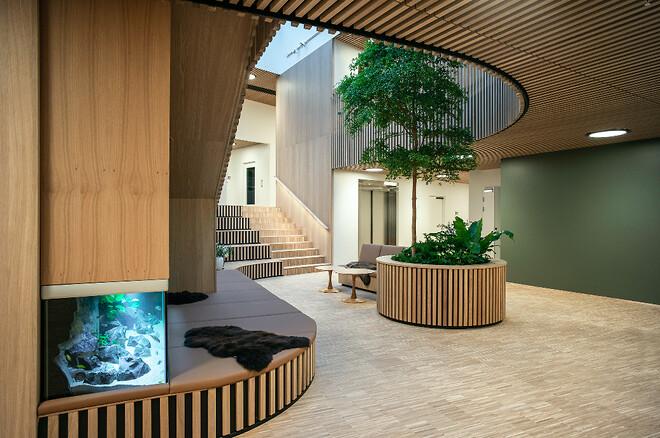 3. Strandbakkehuset, Børne- og Ungehospice i Rønde - Fotograf Helene Høyer Mikkelsen, kilde: AART architects. Nohrcon - årets sundhedsbyggeri 2021