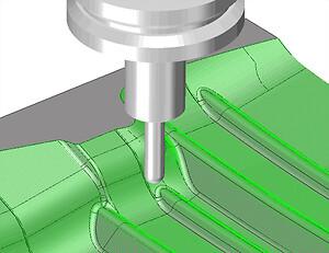CAM milling
