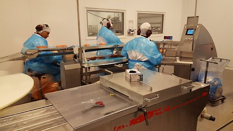 CP Food machinery Packing table null