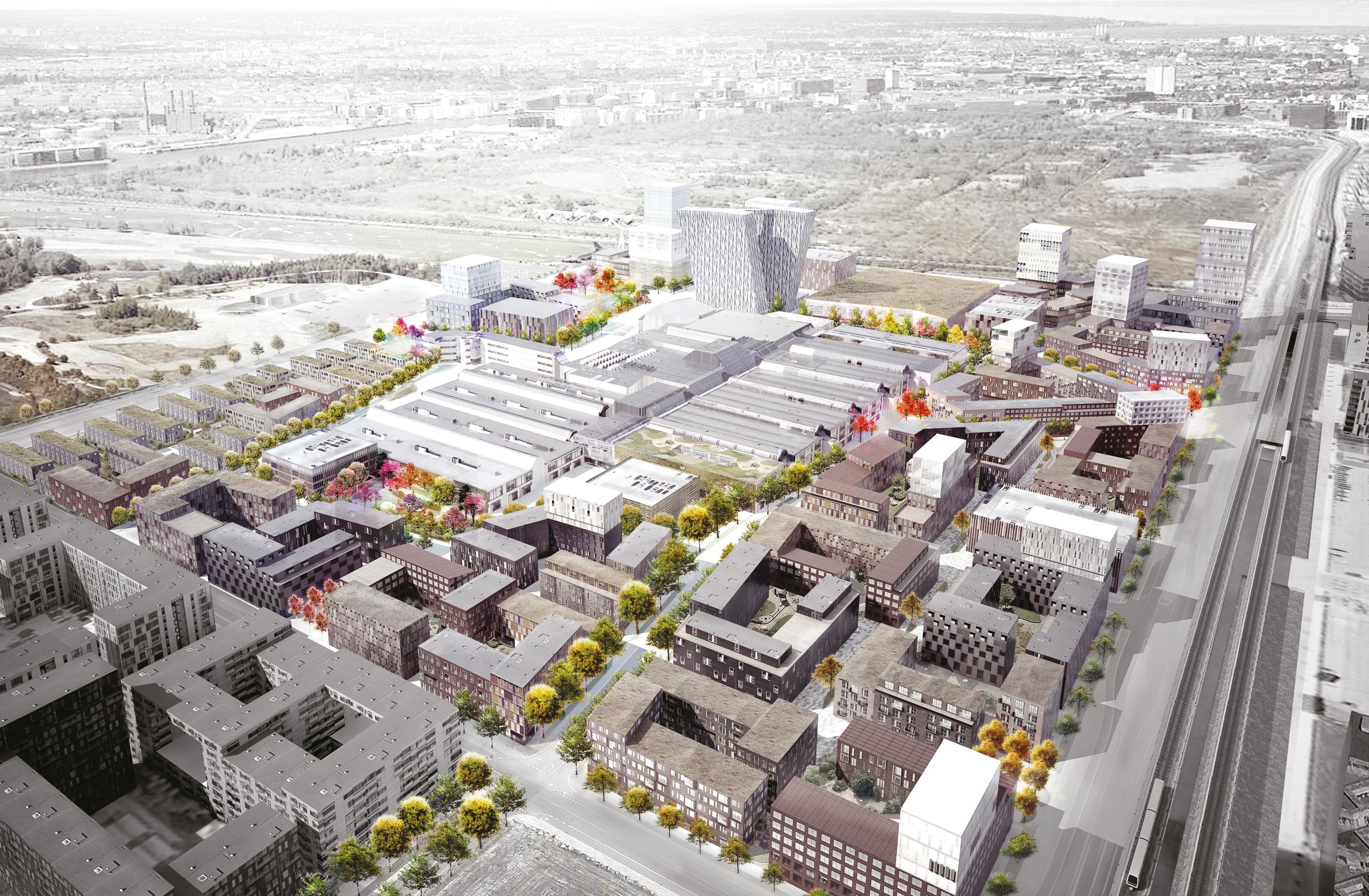 410 nye almene boliger i Ørestad - Building Supply DK
