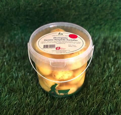 Økologiske Små Danske raspede kartofler – 700 g spand fra Olaf Sand & Co. - Økologiske Små Danske raspede kartofler – 700 g spand fra Olaf Sand & Co.