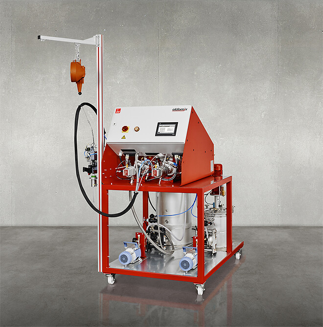 potting epoxy machine
