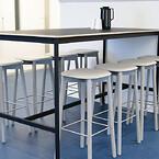 Kontorindretning erhverv kontor indretning højborde kantine kafferum