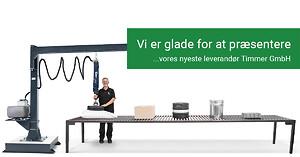 Snabelløfter - Timmer ny leverandør hos Max Fodgaard A/S