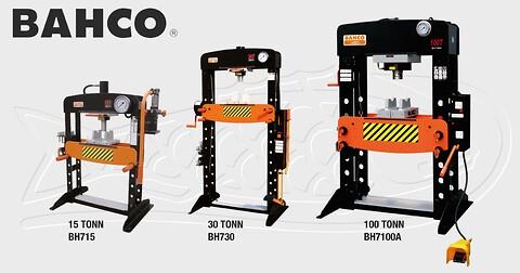 Hydrauliske presser fra Bahco