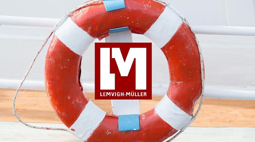 Lemvigh-Müller står til søs - Mester Tidende