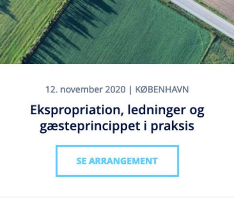 Ekspropriation, ledninger og gæsteprincippet i praksis - Ekspropriation, ledninger og gæsteprincippet i praksis - Nohrcon
