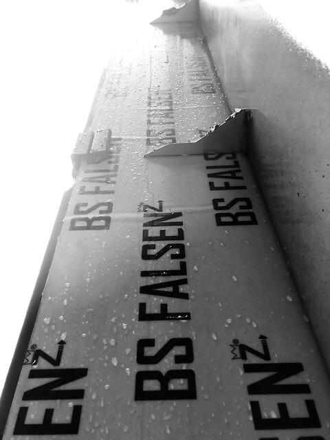 BS falsen z indstøbning - bagvægge