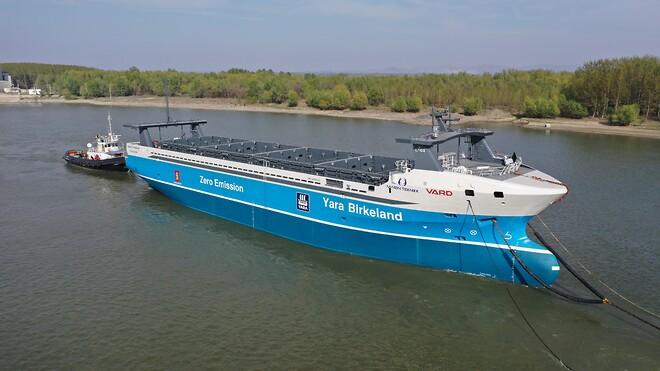 R. STAHL TRANBERG leverer til verdens første autonome skip Yara Birkeland