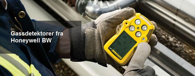 Måling av gasskonsentrasjon
