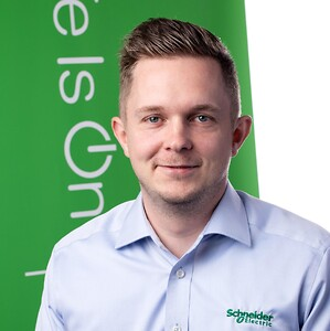 Fokus på Teknikken med tekniske supporter Kasper Sund fra Schneider Electric