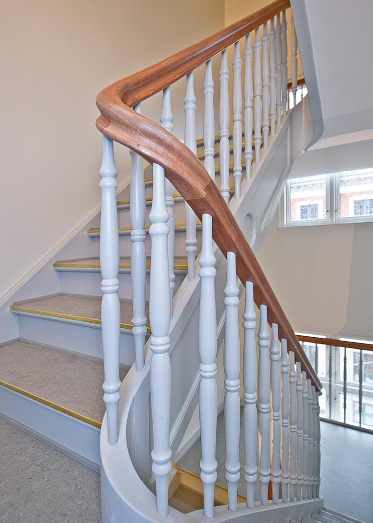 Wood Step på historisk opgave i seks etager - Wood Supply DK
