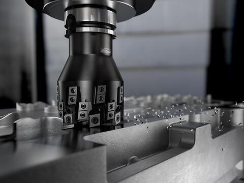 Sandvik Coromant fresehode fullfører terningsforming i én enkelt gradfri operasjon