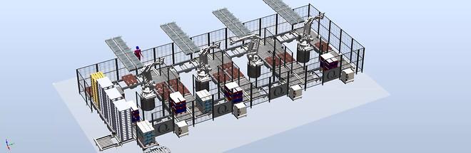Q-Meieriene Robotisert Helautomatisert lager- og logistikkløsning