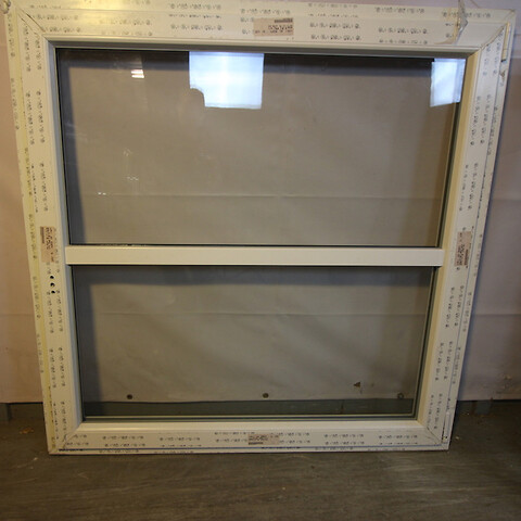 Sidehængt vindue, plast, 009620