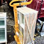 BSV pallegaffel, pallegaffel til isolering, teleskopisk pallegaffel