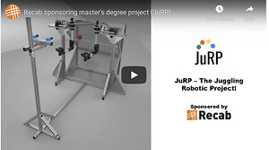 JuRP – The Juggling Robotic Project! A robotic system that can juggle without any human controlling