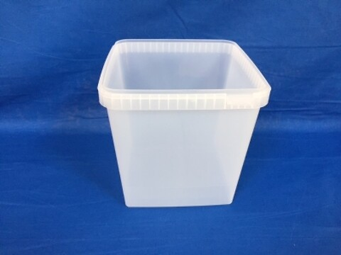 Plastbøtte 5548-5000 ml.- frysekvalitet - natur