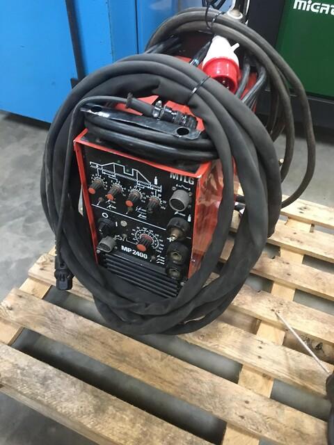 Brugt Kemppi tigsvejse maskine type MP 2400  sælges