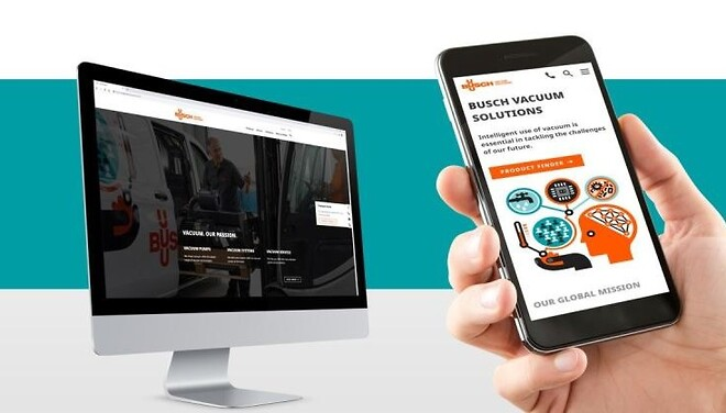 Ny hemsida, www.busch.se