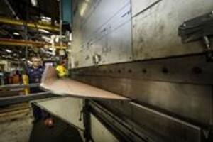 Inddækninger til byggeriet fra Ollerup Maskinfabrik Slagelse
