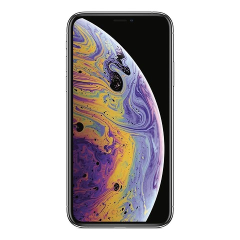 Apple iPhone XS 64GB (Sølv) - Grade C - mobiltelefon
