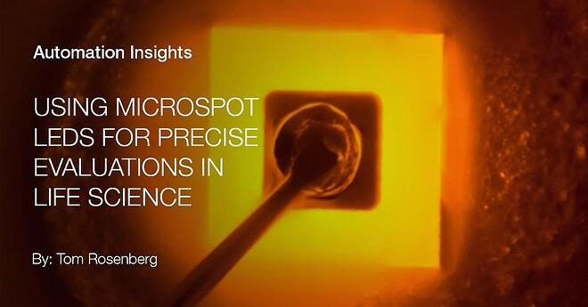 Microspot-lysdioder, automation, Balluff