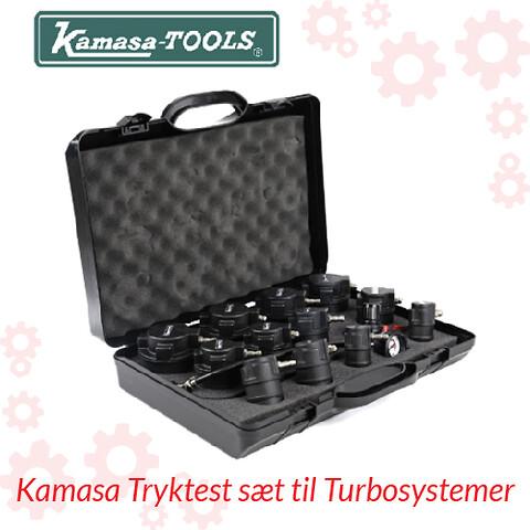 Kamasa Tryktest sæt til Turbosystemer