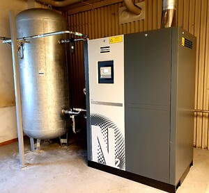 Syntronic kvävgasgenerator från Atlas Copco