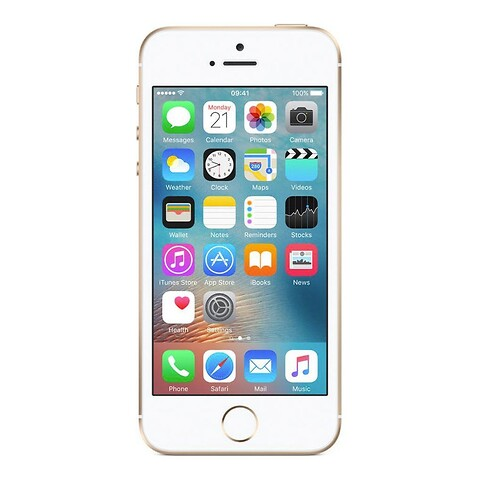 Apple iPhone SE 128GB (Guld) - Grade B - mobiltelefon
