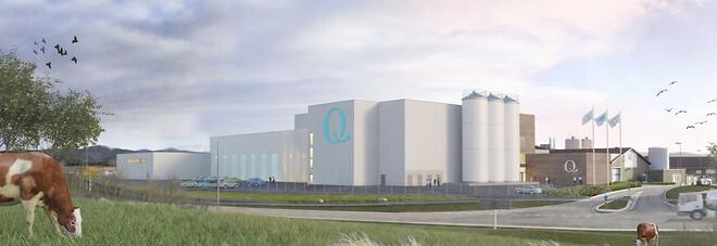 Q-Meieriene Klepp Stasjon Nytt Produksjonsanlegg
