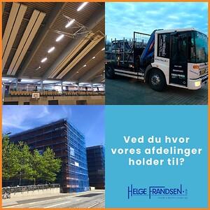 Helge Frandsen A/S Stillads og industrivarme