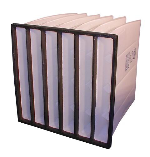 Kuvertfiltre i diverse filterklasser jf. ISO 16890