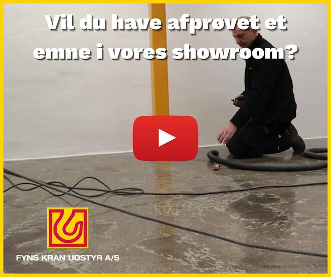Showroom Odense - Fyns Kran Udstyr A/S