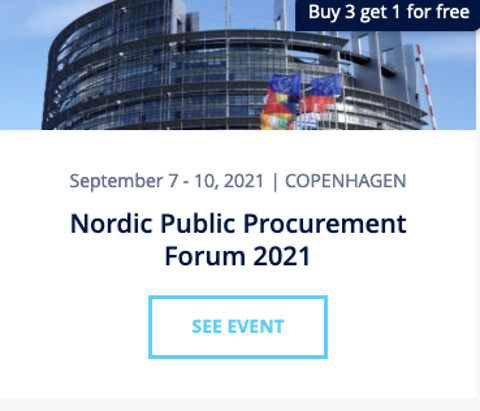 Nordic Public Procurement Forum 2021 - Nordic Public Procurement Forum 2021 - Nohrcon