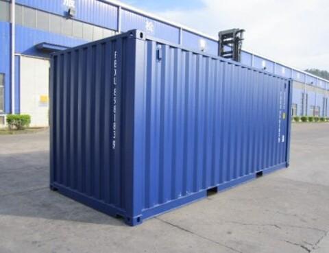 Lej en dækcontainer hos ALPHA Containers A/S - Dækcontainer