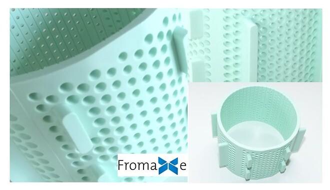 FromaXe - osteforme i polypropylene copolymere som er X-RAY sporbar
