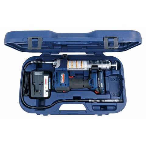 Lincoln Powerluber . Markedets beste batteridrevne fettpresser.   - Lincoln Powerluber fra Norsecraft Tec AS. Markedets beste batteridrevne fettpresser.