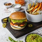 Green Cuisine, plantebaserede frosne produkter, klimavenlige, veganske burgere