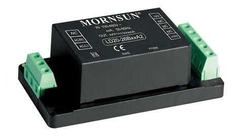 10 og 20W Strømforsyning Vin: 90-528Vac - LD10-26B, LD20-26B, LD-serien, Mornsun, Power Technic