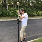 Topcon HiPer HR modtager, og bruger, korrektion´s signaler er fra GPS, Glonass, BeiDou, QZSS, SBAS og Galileo.