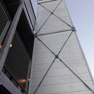 Udendørs elevator til modul og pavillonbyggeri | HYDRO-CON A/S