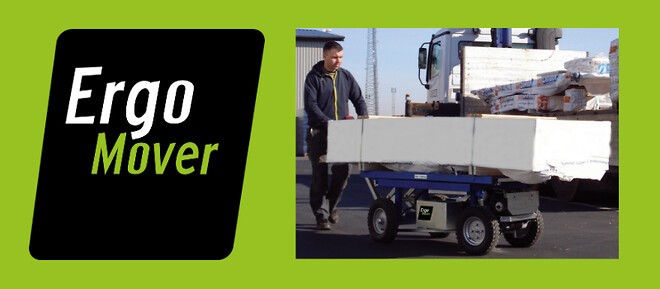 ErgoMover gips- og transportvogn kampagne