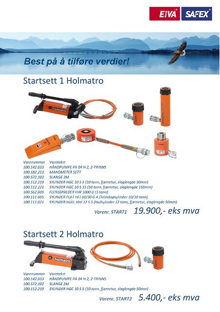 Startsett Holmatro fra EIVA-SAFEX AS