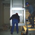 Indkraning af elevator indvendig | HYDRO-CON A/S
