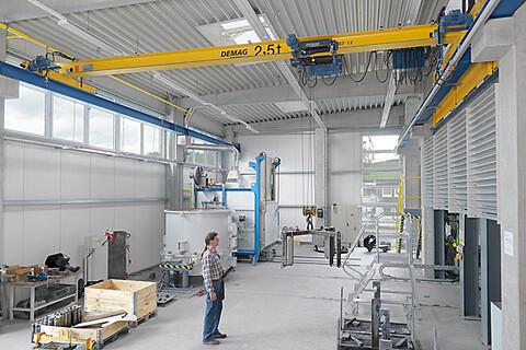Traversbalk Epke - Traverskran med kapacitet upp till 12,5 ton