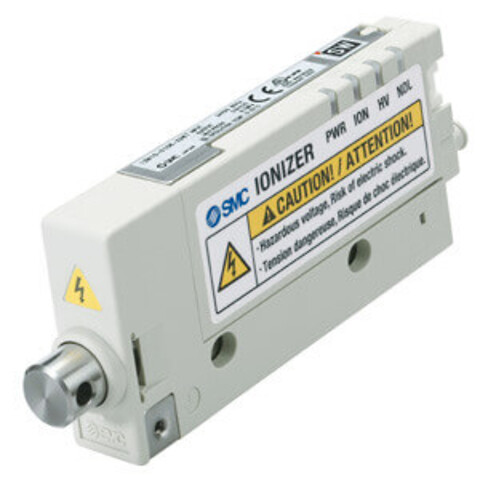 Ionizer fra SMC til små emner fjerner statisk elektricitet