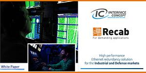 White Paper – High performance Ethernet redundancy solution