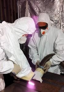 Dekontaminering med laser
